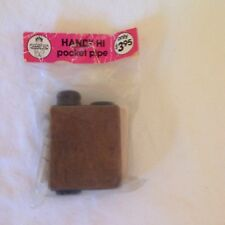 Vintage Brown Tobacco Handy Hi-pipe pocket pipe Still In Package Made is USA