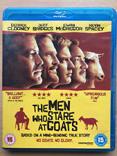 Men Who Stare At Goats 2009 True Life Military Drugs Comedy UK Blu-ray