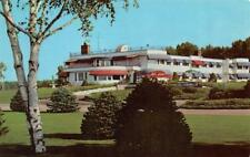 THREE LAKES, WI Wisconsin  NORTHERNAIRE RESORT & Lawn Patio TWO Chrome Postcards