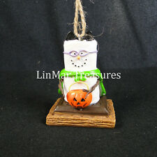 S'mores Trick or Treat Halloween Bat Ornament Midwest CBK
