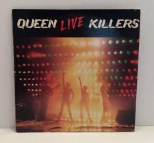 Queen Live Killlers Dbl Album Elektra/Asylum Bb-702 Stereo 1979 Collectible Nice