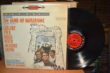 Guns of Navarone Film Soundtrack LP Columbia 6 Eye CS 8455 ST Dimitri Tiomkin