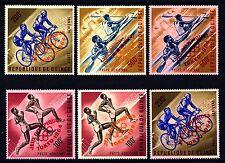 GUINEA - 1964 - Olimpiadi estive-Tokyo. Leggenda JEUX OLYMPIQUES / TOKYO 1964