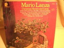 Mario Lanza Christmas Hymns and Carols CSS-777(e) G+ / VG