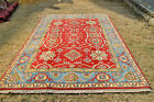 Stunning Qafqazi Pattern Natural Dye Carpet,Abrash Faded Color,-DISCOUNTED PRICE