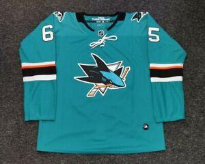 San Jose Sharks NHL Home Jersey, Karlsson 65 , adidas replica. New - size 46(s)