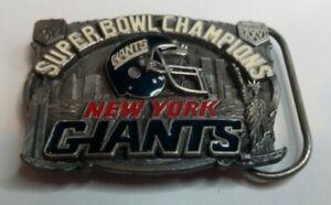 NY Giants Super Bowl XXV Belt Buckle 1991 Limited Edition