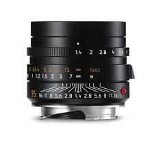 Leica SUMMILUX-M 1:1,4/35mm Asph Negro Anodizado (Nuevo) 11663