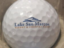 (1) Lake San Marcos Golf Course Logo Golf Ball