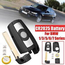 3 Button Car Remote Key Shell Fob W/ Battery For BMW 1 3 5 6 7 Series E90 E92 Z4