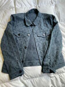 Louis Vuitton Monogram Denim Jacket, Size 46, Blue