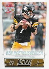 2014 Score Scorecard #297 Ben Roethlisberger H100 Steelers