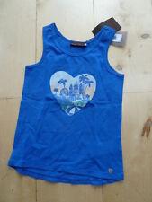 SO 16 - Catimini Informal Chic Top /Camiseta achsel, azul Talla 7a