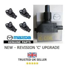 GENUINE MAZDA REVISION C IGNITION COIL PACKS FOR MAZDA RX8 - COMPETE SET OF 4