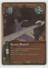 2007 Naruto Collectible Card Game: Revenge and Rebirth #150 Snake Sword 0d8