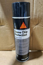 SIKA Stone Chip Protection Coating 500ml Aerosol. Stone Guard. Underbody.