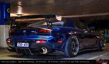 Universal Race Track Drift Rear Bumper DIFFUSER Centre Fins