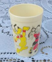 Disney Productions Vintage Mousercise Cup With Mickey & Minnie Mouse 1990's