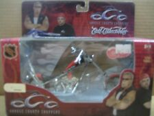NHL OCC Chopper, Die Cast Motorcycle, Detroit Red Wings, MIB, New, 1:18
