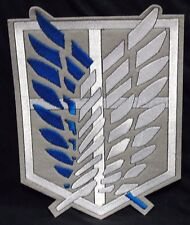 Attack On Titan large survey corps Iron/sew on patch/anime/manga/cosplay/UK sell
