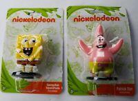 "Nickelodeon Spongebob Squarepants & Patrick Star Set of 2.75"" Tall PVC Figures"