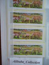 LOT VIGNETTES LISA FRANCE TIMBRE 2019 SALON AGRICULTURE vache cochon cheval