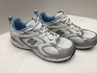 New Balance 409 Women's Running Shoes White/Sky Blue Size 8.5 D CW409WB Nice!👀