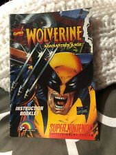 SNES Super Nintendo Wolverine Adamantium Rage Instruction Manual Only