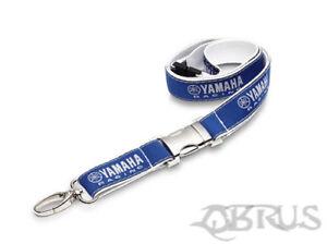Genuine Yamaha 18 Racing Blue & White Lanyard