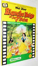 ALBUM AGEDUCATIFS POSTER 1973 BLANCHE NEIGE ET LES 7 NAINS WALT DISNEY PANINI