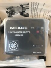 Meade Telescope Electric Motor Drive 533 for small equatorial mounts NEW!