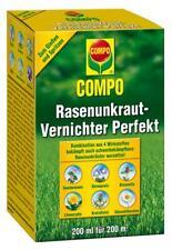 Compo Rasenunkraut-Vernichter Perfekt 200 ml Rasen Unkraut Unkrautvernichter NEu