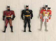 3 Batman Figuren - DC Comics - The Animated Series von Kenner 1993 1994 1995