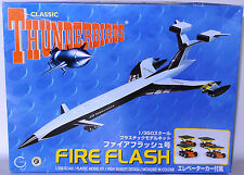 THUNDERBIRDS : FIREFLASH 1/350 SCALE AOSHIMA MODEL KIT MADE IN 2005 (XP)