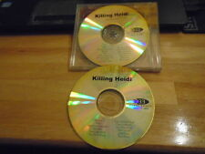 VERY RARE PROMO Killing Heidi 2x CD Reflector + Interview THE VERSES Ella Hooper