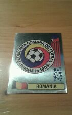 N°77 BADGE LOGO FOIL # ROMANIA PANINI USA 94 WORLD CUP ORIGINAL 1994