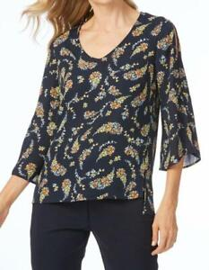 LADIES NEW WITH TAGS TABLE EIGHT MILLIE PRINT TOP SIZE 16 RRP $89.99