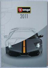 2011 Bburago Full Line Model Catalog Burago Collezione Lamborghini Diamond Gold