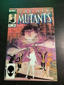 New Mutants#31 Incredible Condition 9.0(1986) Sienkiewicz Art