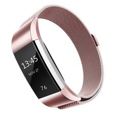 Stainless Steel Metal band Wrist Watch Strap Bracelet Clasp For Fitbit Charge 2