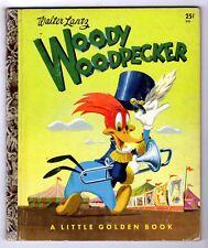 WOODY WOODPECKER - vintage childrens Little Golden Book #330 ~ Walter Lantz