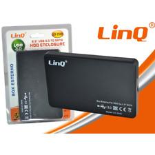 Box Esterno HDD Sata da 2,5'' USB 3.0 U3-2505 Linq Hard Disk Serial-ATA