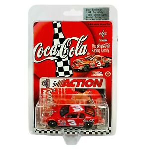 Action Dale Earnhardt Sr. 1998 Monte Carlo Coca-Cola #3 Stock Car - 1:64 Diecast