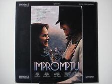 Impromptu 1990 Laser Disc NEW Judy Davis - Hugh Grant- Mandy Patinkin Gem-Mint