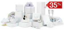 40 pezzi SCATOLE DI CARTONE imballaggio spedizioni 35x25x15cm scatoloni bianchi