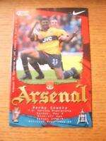 02/05/1999 Arsenal v Derby County