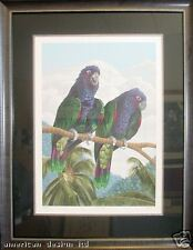 Dallas John Imperial Mates Hand Signed Fine Art Serigraph Birds SUBMIT OFFER