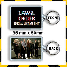 LAW AND ORDER SVU - KEYRING 35mm x 50mm -CULT USA TV -3