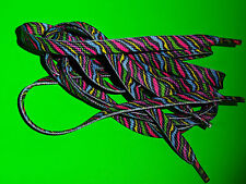 SHOELACES 115CM STRIPEY RAINBOW LACE ** IN AUSTRALIA ** BOOTLACES SHOE LACE TIES
