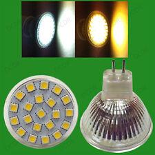 4x 3w Led 12v Mr16 Gu5.3 Epistar Spot Luz bombillas de luz natural o blanco cálido Lámparas
